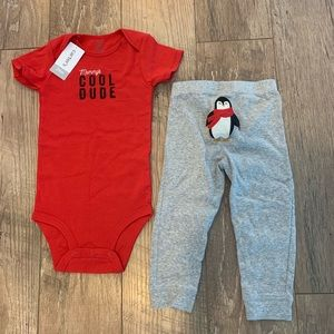 Winter toddler outfit